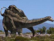 Diplodocus Battle