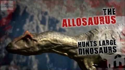 Walking with Dinosaurs Fact File - Allosaurus