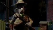 Victor's shooting gun