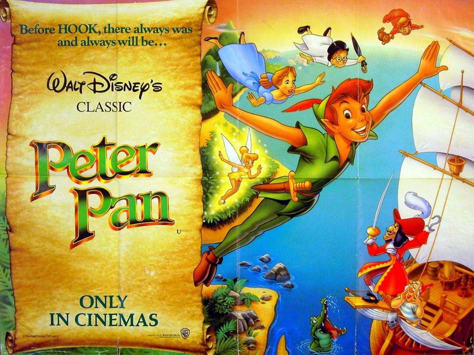Peter Pan Walt Disney Videos Uk Wiki Fandom