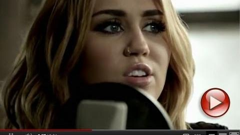 """Miley Cyrus featuring Johnzo West - """"You're Gonna Make Me Lonesome When You Go"""""""