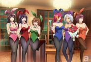 Wrestling bunny girls by foxboy614-dc9azzv