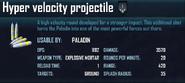 Hyper velocity