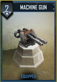 A Level 2 Machine Gun. Twin Barreled Belt Fed.