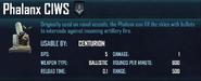 PhalanxCIWS