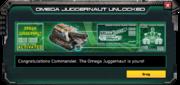 OmegaJuggernaut-UnlockMessage
