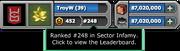 Infamy-Leaderboard-Access