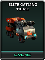 Elite Gatling Truck