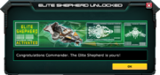 EliteShepherd-UnlockMessage