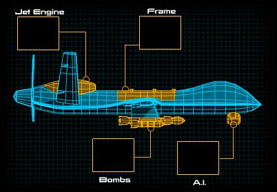 Wing Drone Schematic