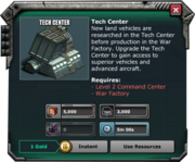 TechCenter-Requirements