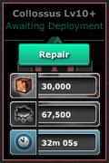 Collossus-Lv10(WF-Lv10)Repairs