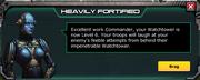 Heavily fortified , upgrade lvl 6 wathctower