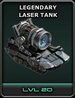 Legendary Laser Tank