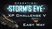 War Commander OP Storm's Eye XP Challenge V ( 55 ) Easy Way 7 May 2020