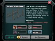 LowWireEntanglement-UnlockRequirements
