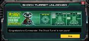 Shock turret unlocked