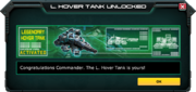 LegendaryHoverTank-UnlockMessage