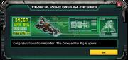 OmegaWarRig-UnlockMessage
