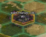 Giant Thorium