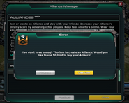 Alliance Manager Gold