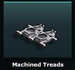 Machined Treads