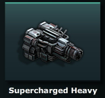 Supercharged Heavy Engine