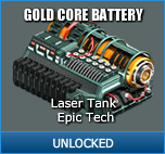 Gold Core Battery