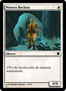 Minero Recluta