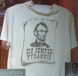 Timothy McVeigh's T-Shirt