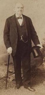 P.T. Barnum's Top Hat & Walking Stick