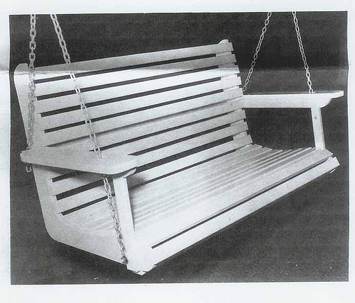 Amasa Coleman Lee's Porch Swing