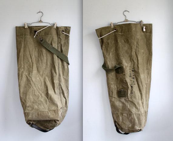 Jim Robinson's Army Bag