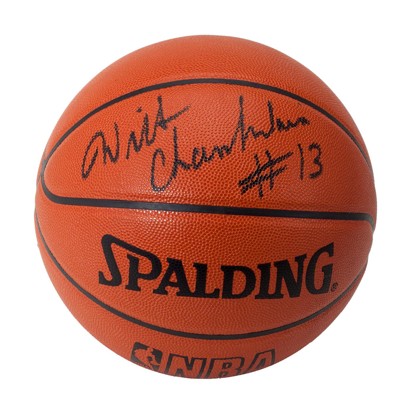 Wilt Chamberlain's Basketball