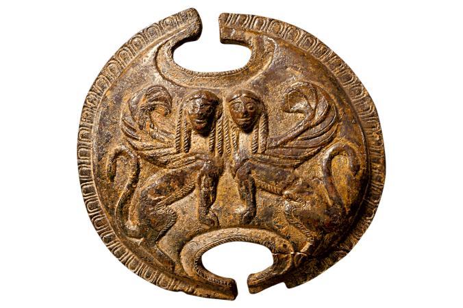 Spartan Shield from the Peloponnesian War