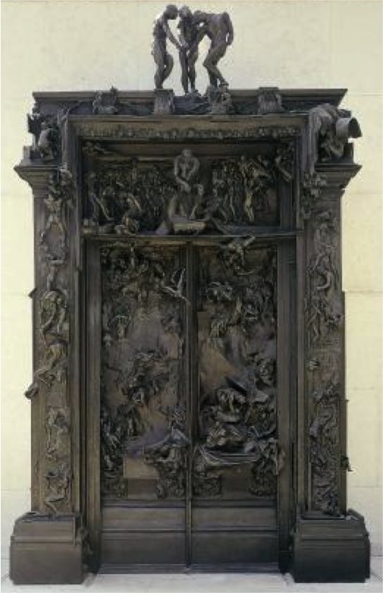"""Auguste Rodin's """"Gateway to Hell"""""""