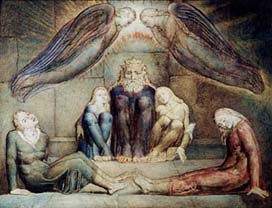 """William Blake's """"Ugolino and Sons in Their Cell"""""""