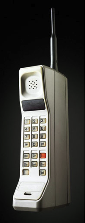 Marty Cooper's Cellphone