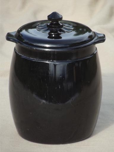Black Cookie Jar
