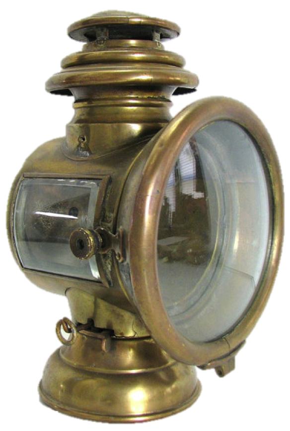 Carl G. Fisher's Acetylene Headlight