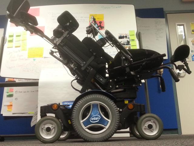 Stephen Hawking's Wheelchair