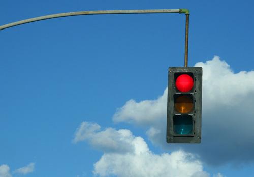 Haste-Detecting Traffic Light