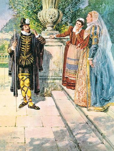 Twelfth Night Yellow Stockings and Cross Garters