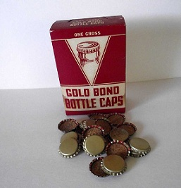 Gold Bond Bottle Caps