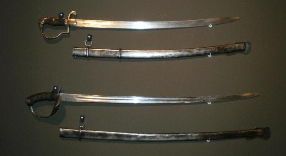 Casimir Pulaski's and Michael Kovats de Fabriczy's Hessian Cavalry Swords