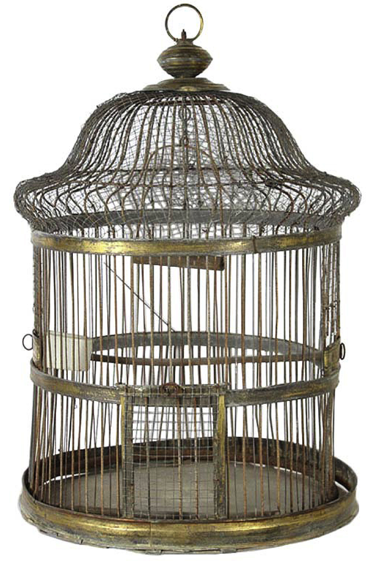 Eiffel Tower Parrot Cage