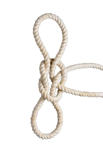 Davenport Brothers' Seance Ropes