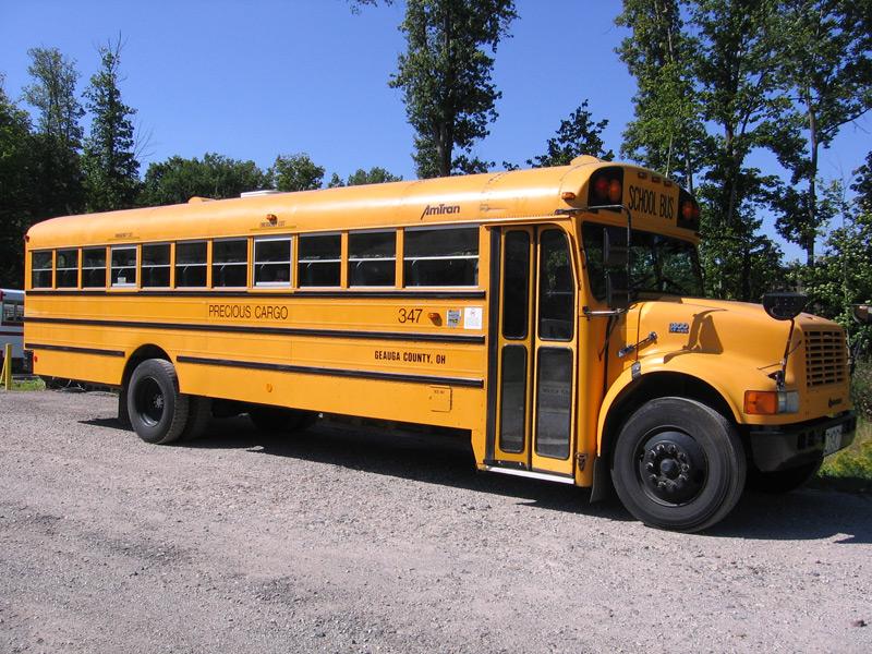 Late Schoolbus