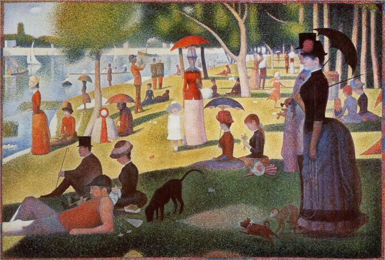 """Georges-Pierre Seurat's """"A Sunday Afternoon on the Island of La Grande Jatte"""""""