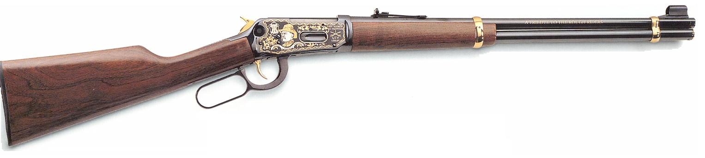 Buckskin Frank Leslie's Rifle